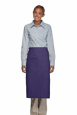 Daystar Apron 1 Style 120 one pocket full bistro apron w/divide ~ Made in USA