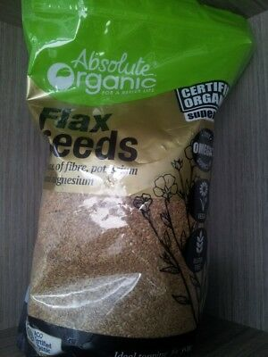 1.5Kg Organic Flaxseeds Gold Flax Seeds