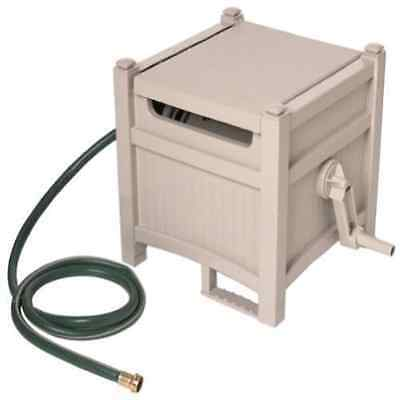 Suncast Garden Hose Hideaway with up to 100-Foot-Capacity Water Hose Reel- New