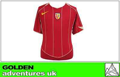 *nike ; Lens Home Shirt Ss / Red = Size*