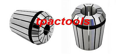 ER32 COLLET INDIVIDUAL SIZE HIGH PRECISION 1/16 1/8 3/16 3/8 5/16 1/2 5/8 3/4
