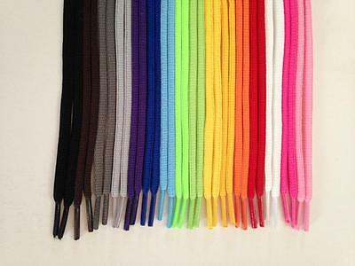OVAL Athletic Sports Boot Round Sneaker SHOELACES 36 45 54 Inch shoe lace string