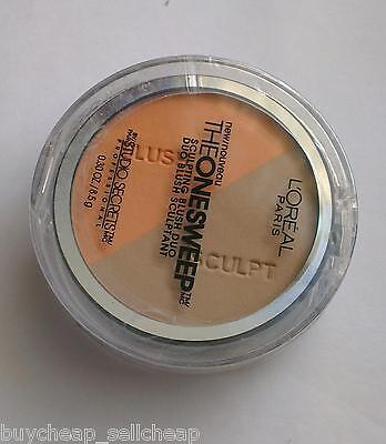 Loreal Studio Secrets Professional Blush Duo 825 Nectar The One Sweep Sculpting