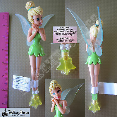 New Authentic Original Disney Fairy Tinker Bell Figurine Pen - Gift - Princess