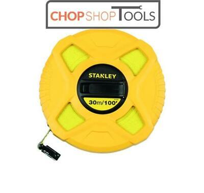 Stanley 0-34-262 Fibreglass 30m 100ft Cased Long Tape Class 3 STA034262
