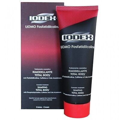IODEX UOMO F Trattamento RIMODELLANTE TOTAL BODY Crema 220ml