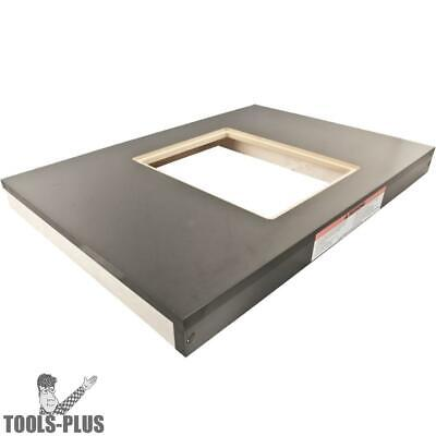 "Powermatic 6827043 30-1/2"" x 21-1/2"" Wood Extension Table w/ Cutout - PM2000 New"