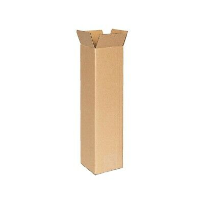 50 100x100x400mm Mailing Box Long Tall Shipping Carton * Tube Replacement STRONG