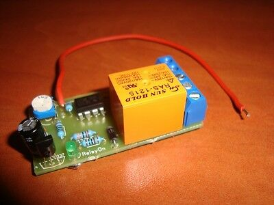 Positive Pulse Activating Timer Switch Relay Delay Off 1 To 270 Sec Kit 10A 12V