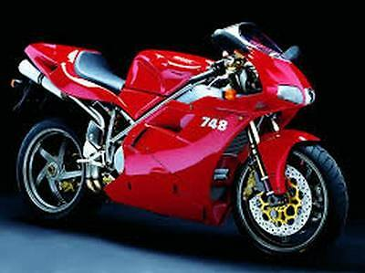 Manuale Officina DUCATI 748 / 916  Workshop Service Repair Manual