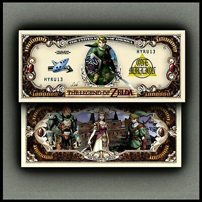 Zelda Million Dollar Novelty Bill