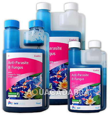 Nt Labs Eradick Parasite Fungus White Spot Trichodina Costia Fish Pond Treatment