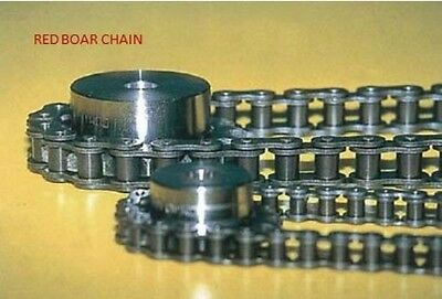 """#50 Riveted Roller Chain 10ft 5/8"""" Pitch Free Shipping 2 Connecting Links"""
