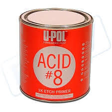 Upol Acid #8 Etch Primer 1ltr Fast Drying No Sanding require BEST price