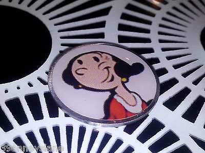anneys ~ GOLF  BALL  MARKER - * olive oyl ** ~