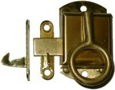 Right Hand NAPANEE Cabinet Latch - Brass   B1515R
