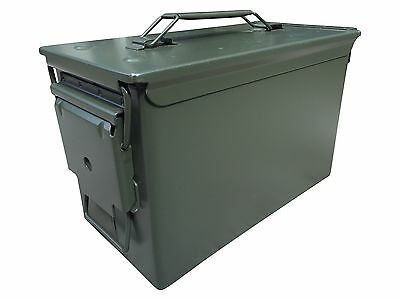 Unstenciled New 50 Cal M2A1 Mil Spec Ammo Can. Empty Ammunition Can