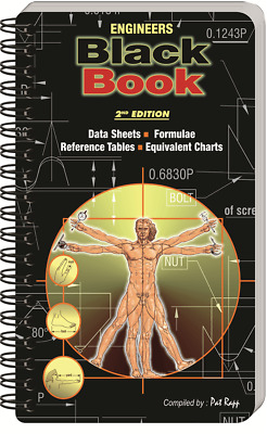 Engineers Black Book 2nd Edition (Metric) By Rapp Pat - Laminated Grease Proof