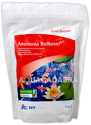 NT LABS POND BOOSTER 1400g 1.4KG AMMONIA NITRATE PHOSPHATE REMOVER FISH POND