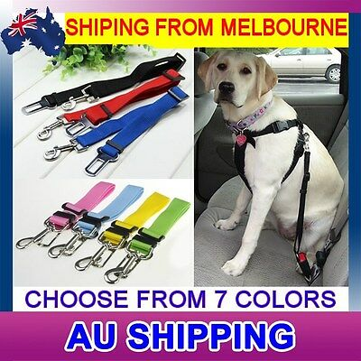 New Adjustable Car Vehicle Safety Seat Belt Harness Lead Cat Dog Pet