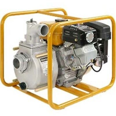"""Commercial Trash Pump 2"""" Suction & Discharge Port - 153 GPM - 43 PSI - 4 1/2 HP"""