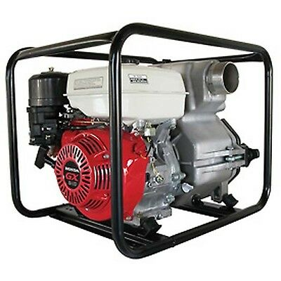 "COMMERCIAL TRASH PUMP 3"" - 8 HP - 286 GPM - Honda GX Engine - 286 GPM INDUSTRIAL"