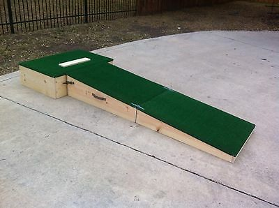 "10"" Portable Pitching Mound-High School"