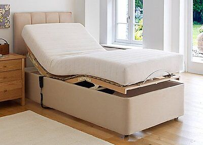 """Electric Bed Mattress Protector 3'0""""x 6'6"""" (90cm x 198cm) Luxury Quilted UK Made"""