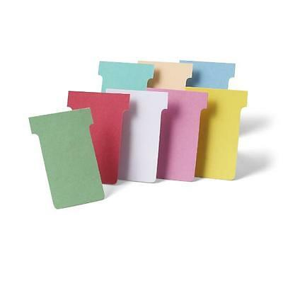 Eurocharts T-Cards Job cards Size 2   Pack of 500 Free Uk delivery In Stock