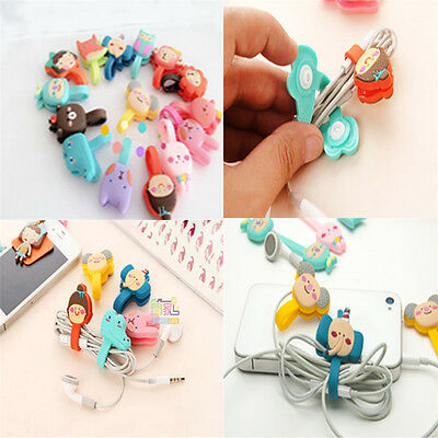 Cute Korean-style button sewing phones / headphone winder style diversity pick U