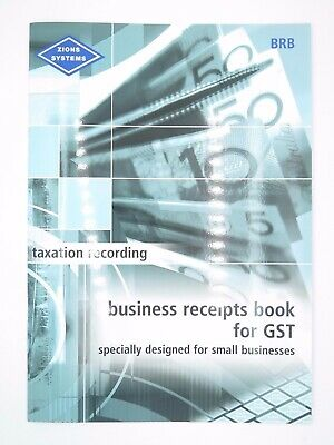 Zions – Business Receipts for GST Book BRB^