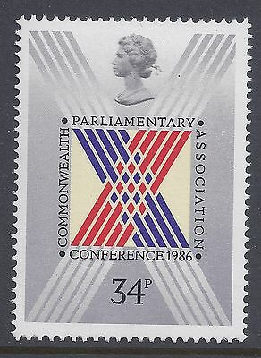1986 Gb Sg1335 Commonwealth Parliamentary Conference Fine Mint Mnh/Muh 1 Stamp