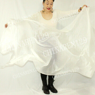 sale sale BELLY DANCE 100/% SILK VEILS 1.14M*2.7M carry bag  699