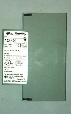 Allen-Bradley Side Mount NC Auxiliary Contact (100SA01)