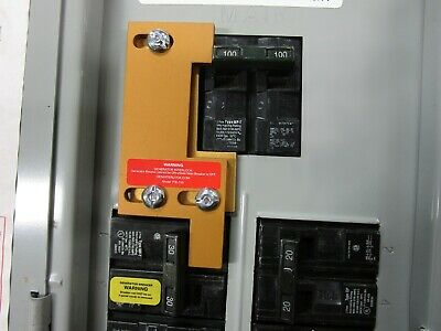 ITE-100 Murray, Siemens, Gould or ITE Generator interlock kit 100 Amp Panels