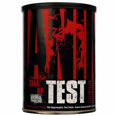 Animal Test 21 Packs Universal Nutrition Testosterone Boost Improve Muscle Fuel
