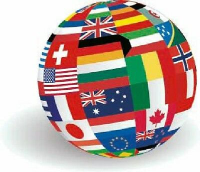 National Country Flags Of The World! Great Value 5 X 3 Ft Lots Choice 1St Class