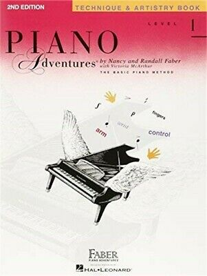 Level 1 - Technique & Artistry Bk - 2nd Edition, Piano Adventures