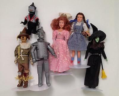 Vintage Wizard of Oz 1988 DOLLS DOROTHY TOTO WITCH GLINDA TINMAN SCARECROW