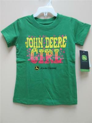 "Youth ""John Deere Girl"" T-Shirt (Green)"