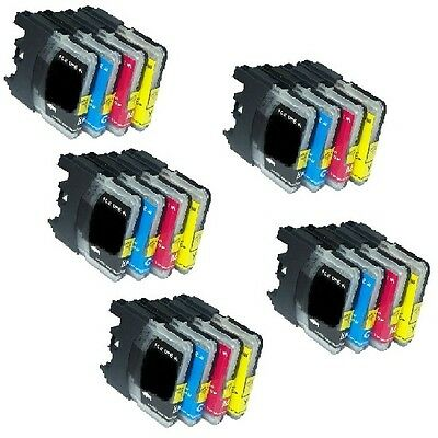 20 PK Inkjet Cartridges fits Brother LC101 LC103 MFC-J870DW MFC-J875DW COMBO