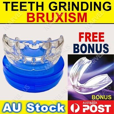 Custom Fit Mouthguard Boil Bite Mouth Guard Teeth Grinding Sport Shock Boxing