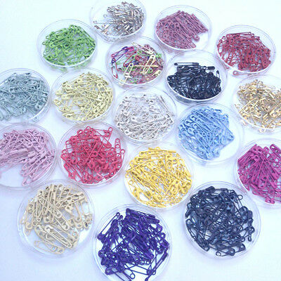 Coloured Safety Pins 27mm x40 per Colour Pack