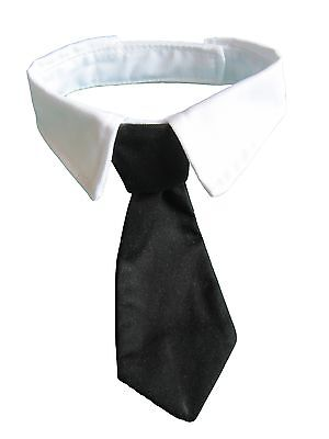 Small Dog Cat Pet Formal Black Bow Tie Collar Tuxedo Neck Tie and Collar Clothes