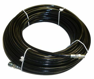 """1/8"""" x 100' Sewer Cleaning Jetter Hose 4800 PSI"""