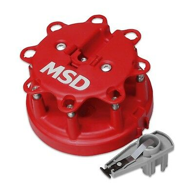 MSD Ignition 8482 Distributor Cap And Rotor Kit for Ford TFI Engines 5.0/5.8L