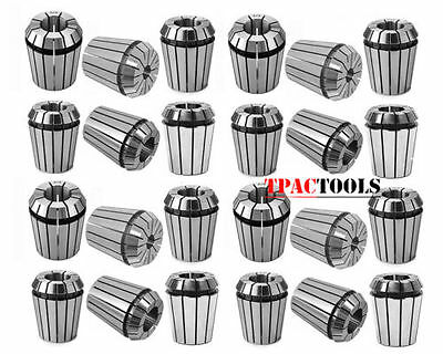 ER32 Collet 45PC Set by 16th 32nd and Metric 2-20mm Cover Standard and MM NEW