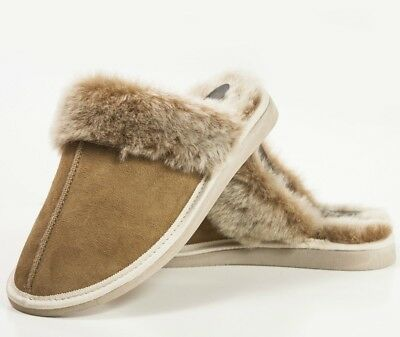 081a9698fc5 YETI&SONS NEW LADIES Womens Sheepskin Boot Slippers 100% Real Fur ...