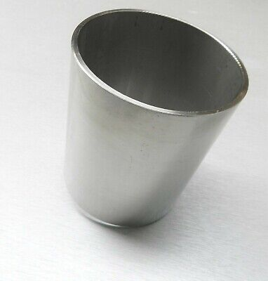 "4"" FLASKS CENTRIFUGAL CASTING FLASK 4"" x 5"" H 1/8"" THICK STAINLESS FLASK RING"