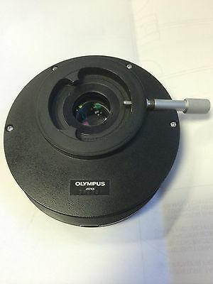 Olympus Microscope BH2-CA Magnification Changer 1X, 1.25X, 1.5X, Phase/Focusable